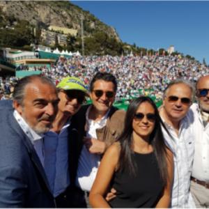 Réception des invités du Cabinet Frayre au Rolex Masters de Monte-Carlo